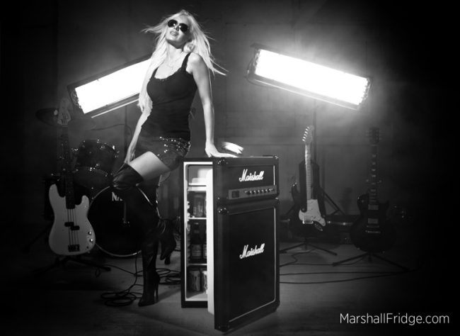 marshall amp fridge hot 650x474 Marshall Amplifier Fridge