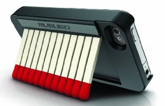 Matchbook Pro iPhone Case is a Book of Matches