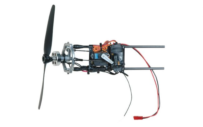 motorized kite motor 650x406 Motorized Stunt Kite