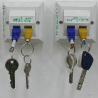rj45 key rack