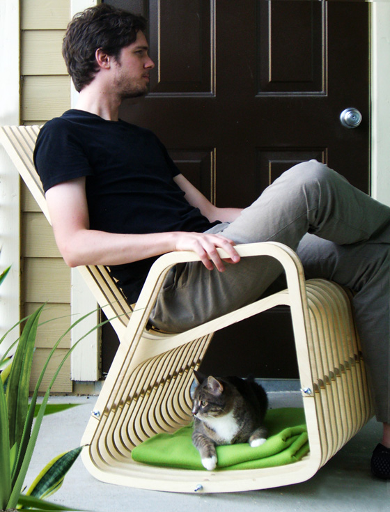 Rocking Chair for You and Your Pet