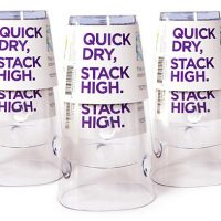 Cups That Can Dry While Stacked Up