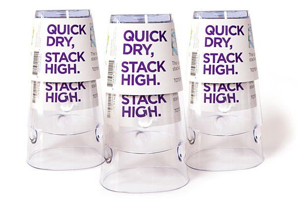 stackable air dry cups Cups That Can Dry While Stacked Up