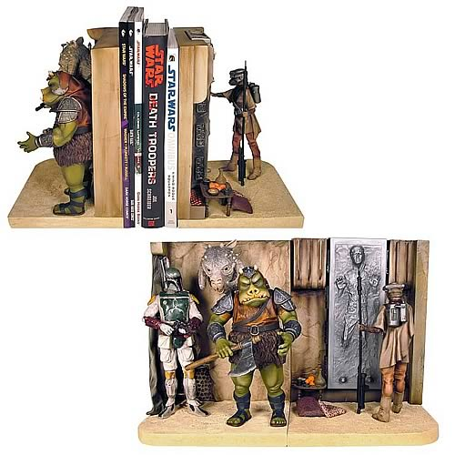 star wars jabba bookends Star Wars Bookends