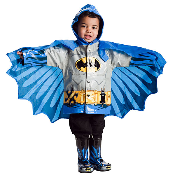 Superhero Raincoats for Kids