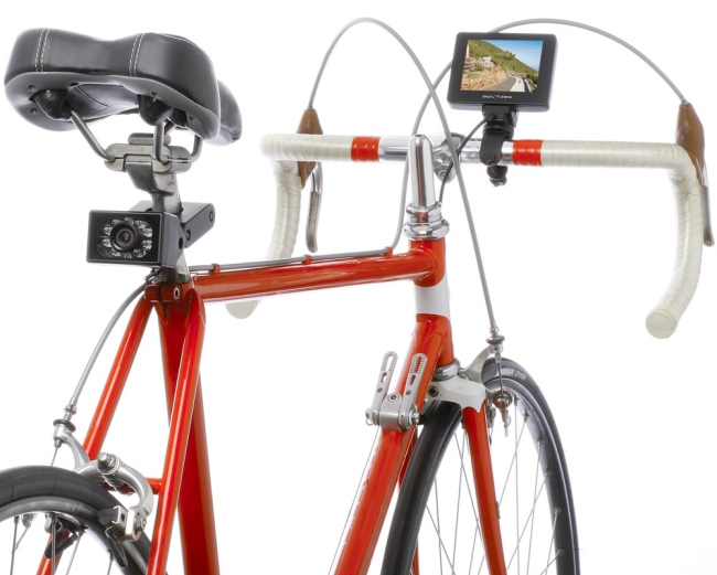bicycle rearview camera Pinboard