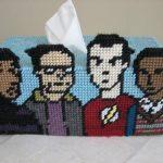 Big Bang Theory Tissue Box Cover