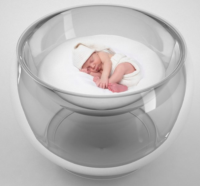 bubble baby bed 650x605 Bubble Baby Bed is Clearly the Best