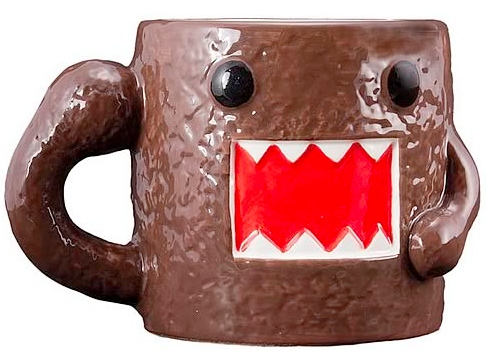 Domo Mug and Bobblehead