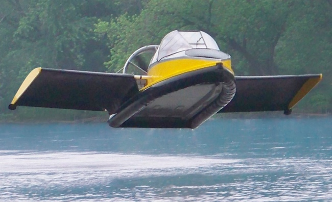 Flying Hovercraft FTW