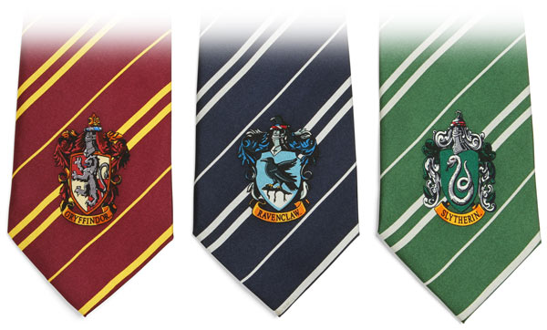 harry potter house ties Harry Potter House Ties