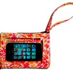 Purse with a Clear iPhone Outer Pocket