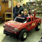 Jet Powered Miniature Monster Truck