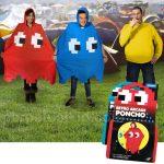 Pac-Man Ghost Ponchos