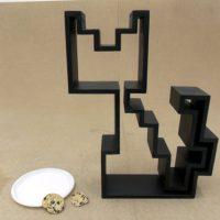 pixel cat shelf