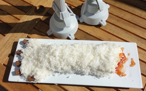 Severed Wampa Arm Cake