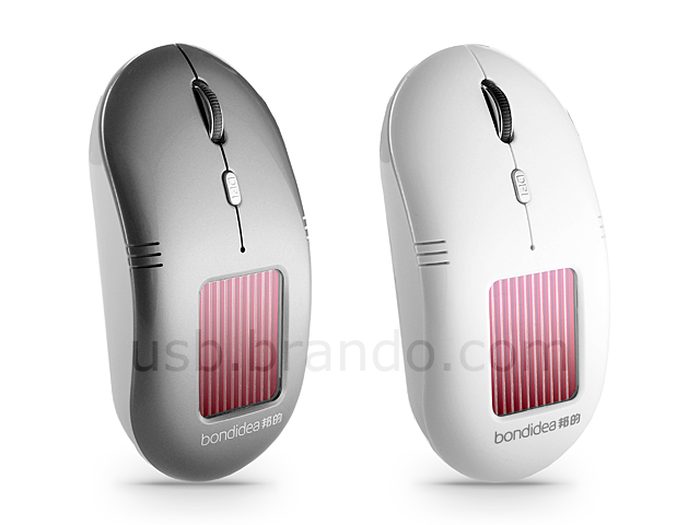 Solar Powered Optical Mouse