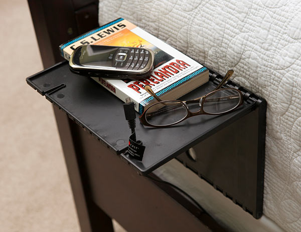 urban shelf inuse Instant Bedside Nightstand Shelf