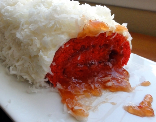 Thatu0027s The Guava Jelly Filling Substituting For Wampa Blood. The Wampau0027s  Fur Is Actually Coconut And His Fingernails Are Nestle Crunch Crisp Bars.