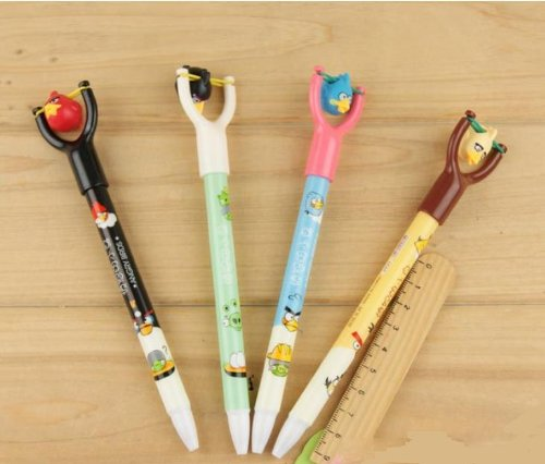 angry birds slingshot pens Angry Birds Slingshot Pens