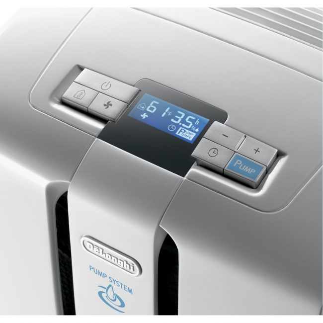 delonghi dehumidifier 650x650 DeLonghi Dehumidifier Pumps Moisture out the Window