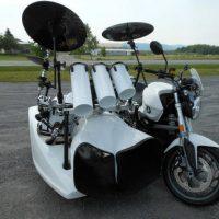 Motorcycle Motorhome