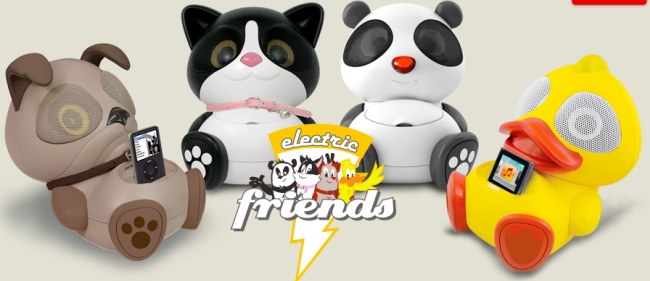 Electric Friends Animal iPod Speaker Docks