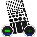 Electronics LED Lights Blocker or Dimming Stickers