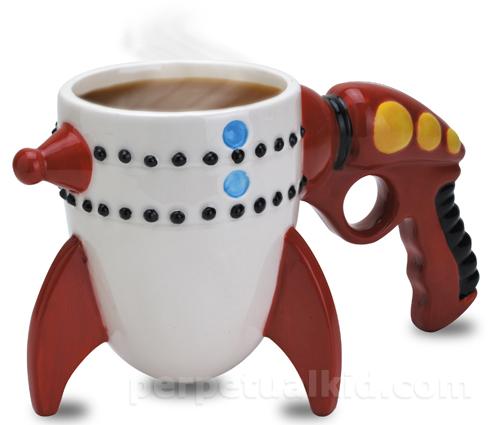 ray gun mug Pinboard