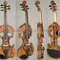 skull violin