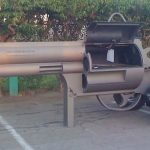 Gun Shaped Grill Makes for a Killer Barbecue