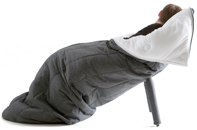 Snuggie Chair!  super ette Cocoon Chair