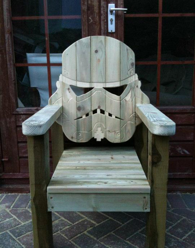 Stormtrooper Wood Deck Chair