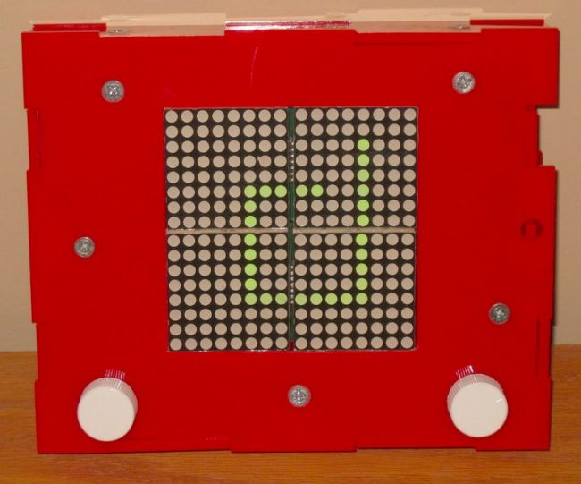 DIY LED Light Etch-a-Sketch