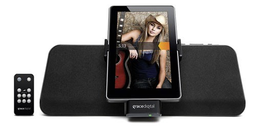 MatchStick Kindle Fire Speaker and Charging Dock