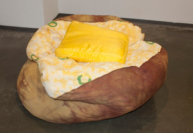 baked potato beanbag chair 650x448 Pinboard