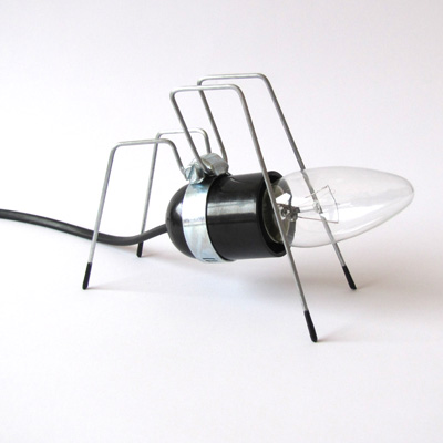 Bug Lights Look Like Metal Insects