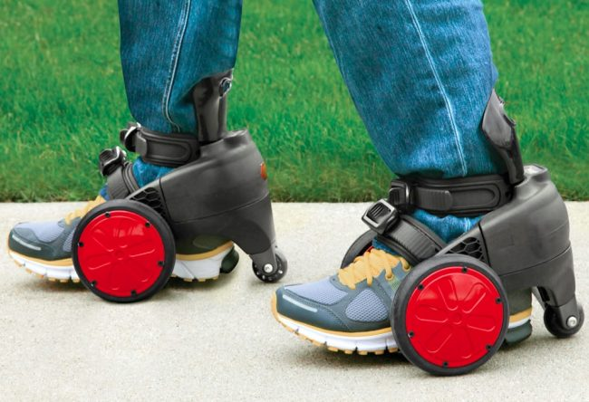 electric skates 650x444 Motorized Electric Roller Skates