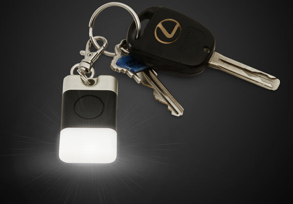 glowing key fob Constantly Glowing Key Fob Light