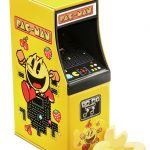 Pac-Man Candy in an Arcade Cabinet Tin