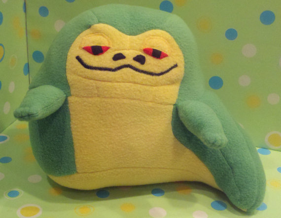 Handmade Plush Jabba the Hutt
