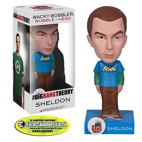 Big Bang Theory Sheldon Cooper Batman Bobblehead