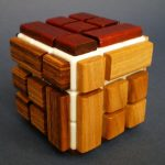 DIY Wooden Bandaged Rubik's Cube