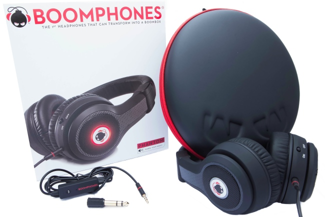 Boomphones, Headphones that Transform to a Boombox