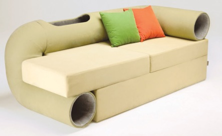 cat tunnel sofa Pinboard