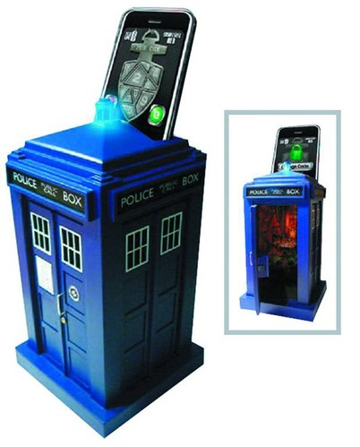 Doctor Who Tardis Smartphone Unlocking Safe