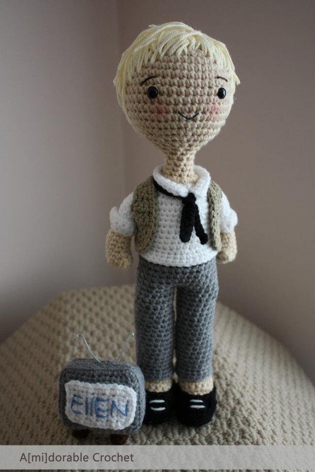 Crochet Ellen DeGeneres