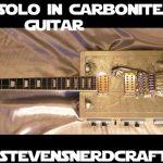 Han Solo in Carbonite Electric Guitar