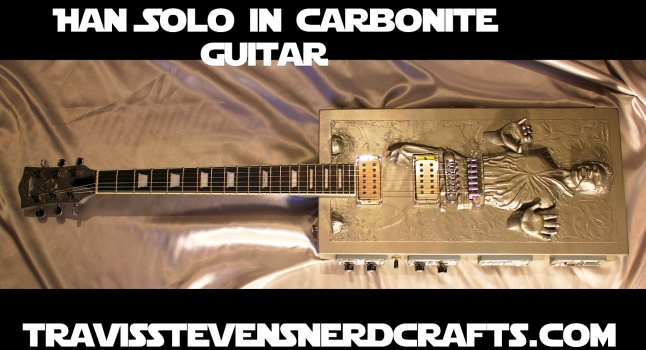Han Solo in Carbonite Electric Guitar