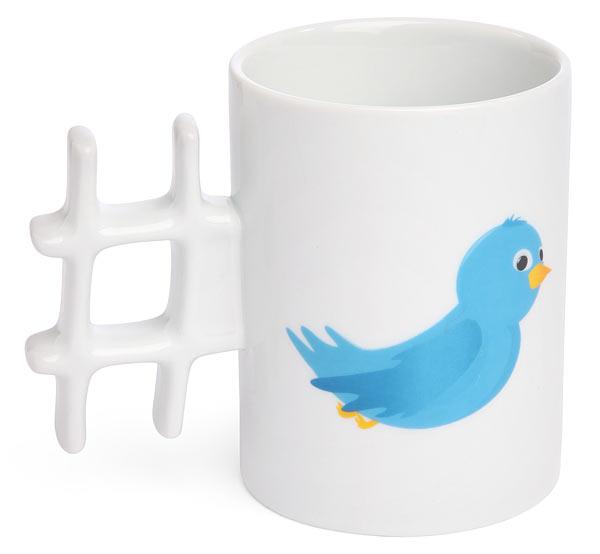 Twitter Hash Tag Mug